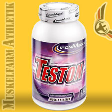 IronMaxx Teston 130 Kapseln - Testo Booster Tribulus Maca Ultra Strong Fenugreek