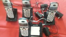 SereneAmplified DECT Cordless Phone with 3 Extra Handsets (3-CL-60 AP 1-CL60)