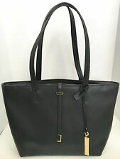 Vince Camuto Black Viana Small Leather Tote MSRP $148