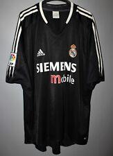REAL MADRID SPAIN 2004/2005 AWAY FOOTBALL SHIRT JERSEY ADIDAS SIZE XL