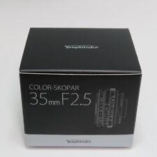 Voigtlander Lente Gran Angular de longitud focal de un Solo Color-skopar 35mm F 2.5 P II
