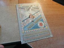 Brochure ancienne DEPLIANT PUBLICITAIRE LU LEFEVRE-UTILE PETIT BEURRE 1935