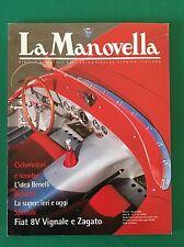 LA MANOVELLA n. 3 Aprile 2000 - Benelli, Fiat 500, Fiat 8V