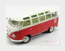 Volkswagen T1 Samba Minibus 1959 Red Cream KK SCALE 1:18 KKDC180151