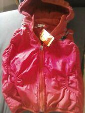 Girls Red Disney Frozen Hooded Body Warmer 9-10 Years 140cms