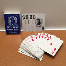 Vintage Walgreens Stud Playing Cards Jumbo Index Blue w/ 4 Jokers