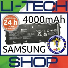 Batteria compatibile 4000mAh per CODICE SAMSUNG AA-PBZN2TP NERO DI RICAMBIO 28Wh