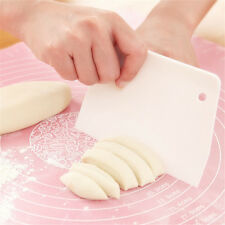 White Cream Scraper Fondant Sugarcraft Scraper Cutter Cake Cream Icing Smoother