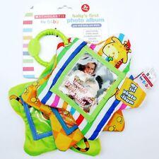 Baby Kids Children Photo Album Sleep Pal Crinkle Cloth Book Crib Stroller Toy