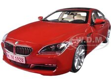 BMW 650i GRAN COUPE 6 SERIES F06 MELBOURNE RED 1/18 MODEL BY PARAGON 97033