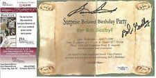 Sam Snead & Bob Goalby Signed Birthday Invitation - JSA Authenticated
