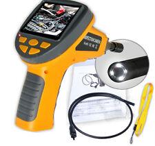"""diametro 8.5mm 3.5 """" TFT LCD 4 LED Video Ispezione Endoscopio TUBO videocamera"""