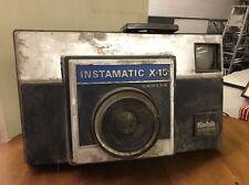 VTG GIANT KODAK INSTAMATIC X 15 STORE DISPLAY PROP ADVERTISING FLASHING BULB BOX