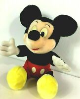 Mickey Mouse Plush Stuffed Vintage Disneyland Walt Disney World Theme Parks