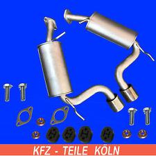 CHEVROLET CAPTIVA (C100,C140) 2.0 Diesel  2 x ENDSCHALLDÄMPFER (links+Rechts)