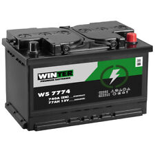 Winter Autobatterie 12V 77Ah 740A/EN ersetzt 68AH 70AH 72AH 74AH 75AH 80AH