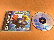 Digimon World 3 *Black Label* Playstation 1 PS1 PSONE Game Complete RARE!