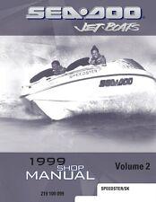 New Sea-Doo 1999 Speedster, SK,  Service Shop Repair Manual 219100099 Free S&H