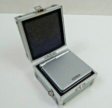 Gameboy Advance SP with Hard Case and AC Adapter Stored for years Tested