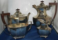1900 De Plata Plateado Tea coffee service Set 4 Piezas