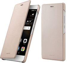Huawei P9 Lite Flip Case Cover Tasche Gold 51991528
