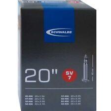 Schwalbe SV 7 Chambre à air vélo 20″ exécution : 20x1.50-2.50″ 40/62-406 sv40mm