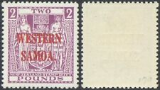 Western Samoa - MH Stamps + Certificate D104