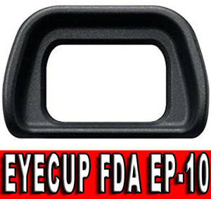 EYECUP OCULARE COPRI MIRINO FDA EP10 PER SONY A6000 A6100 A6300 NEX-7 NEX-6 NEX
