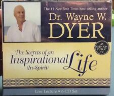 Dr. Wayne Dyer The Secrets Of An Inspirational Life Audiobook6cds NEW Unabridged