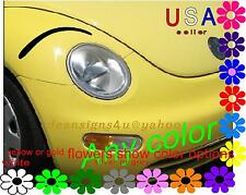headlight EYEBROWS great accent for 3d any car eyelashes BROW only girl mom gift
