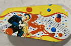 Vintage Tin Noise Maker Rattle New Year's Eve Party Trumpet Player