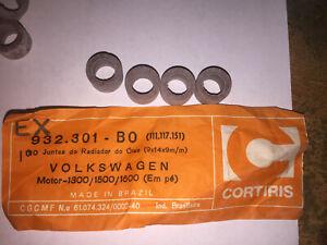 Oil Cooler Seals 8/8mm Fits VW Beetle Karmann Ghia Transporter 111.117.151