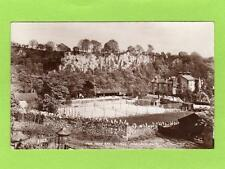 New Bath Hotel Tennis Courts Matlock Bath Trust Houses unused RP pc Ref C420