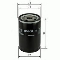 ENGINE OIL FILTER OE QUALITY REPLACEMENT BOSCH F026407017