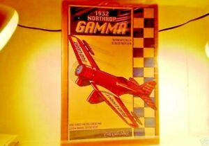 Ertl Die Cast Airplane 1932 Northrup Gamma Bud Light Bi-Plane Toy Bank