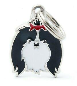 Shih Tzu Dog ID Tag (16) - Engraved FREE - Personalised - Charm - Keyring