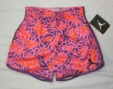 NWT Girls NIKE AIR JORDAN Foldover Athletic Shorts 450933 - size M