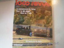 **s Loco Revue n°436 Nuremberg 82 / BB 63998 Roco / Photogravure chimique laiton
