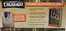 Scent Crusher Portable Ozone 'Hunter's Closet' Scent Elimination Storage - 59801