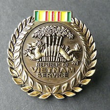 Vietnam Service Ribbon Insignia Veteran Lapel Pin Badge 1 Inch