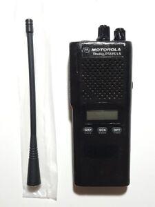 MOTOROLA P1225 UHF 450-470MHz 16ch 4W DISPLAY RADIO W/FREE PROGRAMMING GMRS FRS