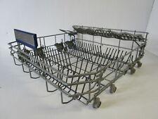 New listing Siemens Dishwasher Lower Rack / Crockery Basket, Grey 00771609 771609 Asmn