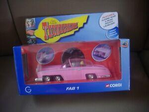 Corgi Thunderbirds,Fab 1, 40th Anniversary