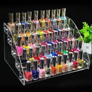 Nagellack Display Nagellackständer Aufbewahrung Parfüm Organizer Ablagen Acryl
