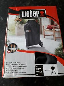 "Weber 7141 Premium Waterproof BBQ Cover - Charcoal Kettle 18"" / 47cm.BRAND NEW"