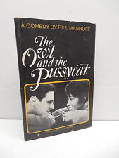 Owl And The Pussycat Book Doubleday Theater Series Bill Manhoff Comedy Alan Alda