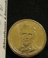 2010-P $1 Abraham Lincoln Presidential Dollar BU