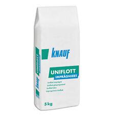 KNAUF UNIFLOTT Spachtelmasse imprägniert Fugenspachtel Feuchtraum Spachtel 5kg