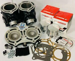 Banshee Cylinders Top End Rebuild kit Complete Cylinder Head Pistons Wiseco