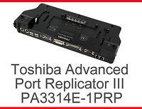 TOSHIBA ADVANCED PORT REPLICATOR III PORTEGE PM100 M200 M300 SATELLITE M10 /1.7